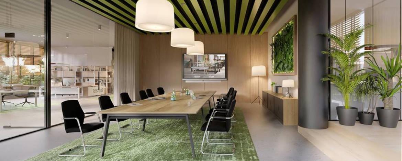 Rienk - Rienk kantoor vergadertafel vergaderstoelen 2021